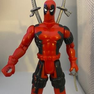 1992 Marvel Toy Biz X-Men X-Force Deadpool 5""